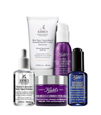 Anti-Dark Spot Advanced Age Correcting with Tinted UV Protection Routine
