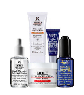 Anti-Dark Spot Intensely Hydrating with UV Protection Routine for Men