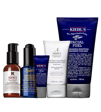 Anti-Wrinkle Hydrating with Tinted UV Protection Routine for Men