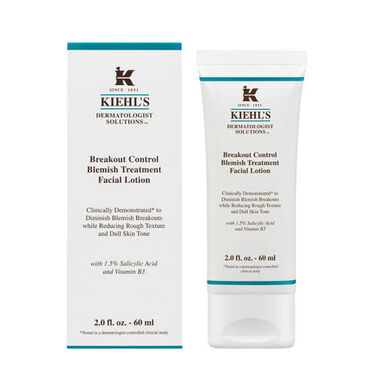 Breakout Control Blemish Treatment Facial Lotion