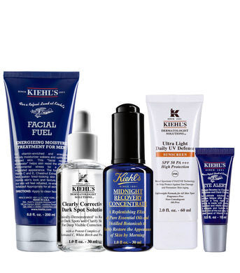 Anti-Dark Spot Hydrating with UV Protection Routine for Men