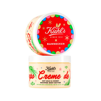 Creme de Corps Soy Milk & Honey Whipped Body Butter Limited Edition Holiday 2018