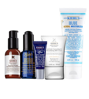 The Line Reducing Routine for Blemish Prone Skin