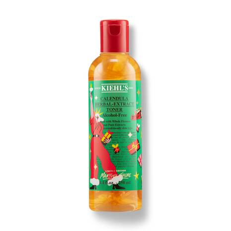 Holiday Limited Edition Design Calendula Herbal-Extract Toner