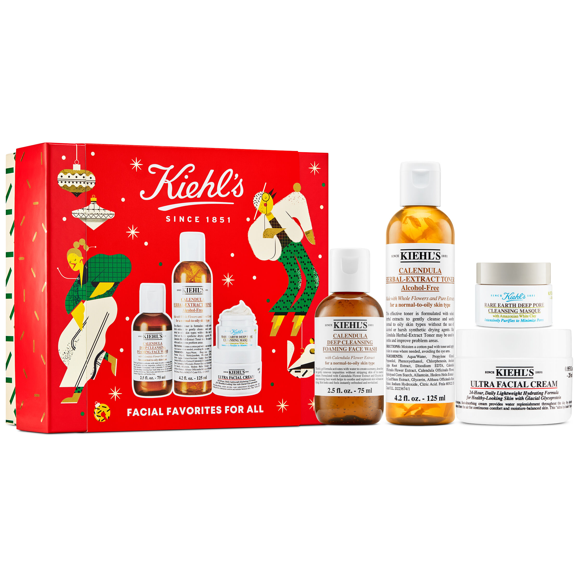 Kiehl's Facial Favourites For All Skincare Gift Set
