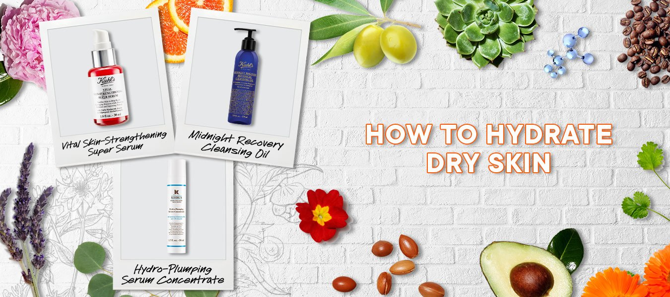How to hydrate dry skin GHLS Banner