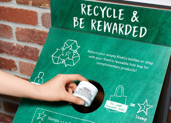 Recycle and Be Rewarded at Kiehl's