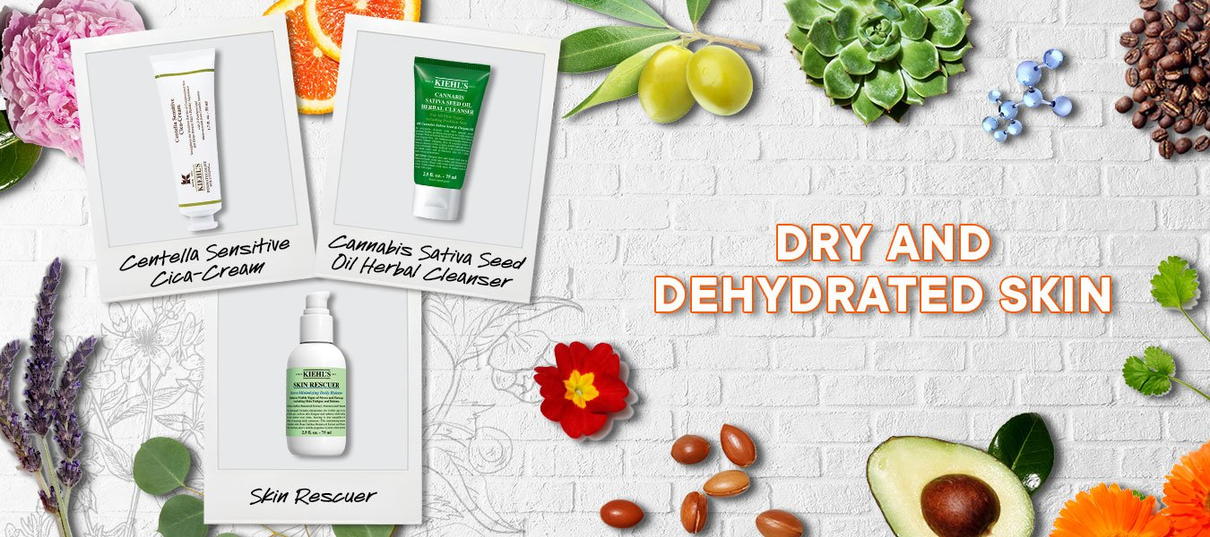 What's the difference between dry skin and dehydrated skin Banner