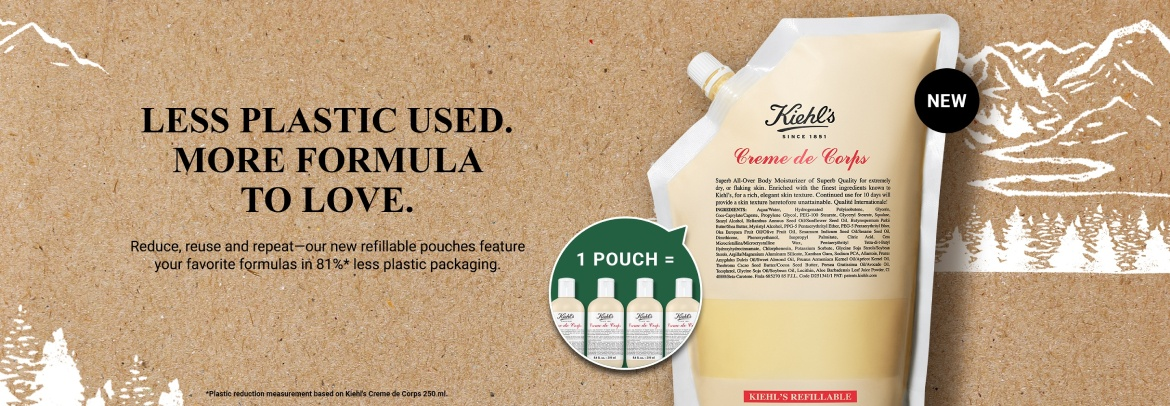 Refill Hair and Body Products Banner